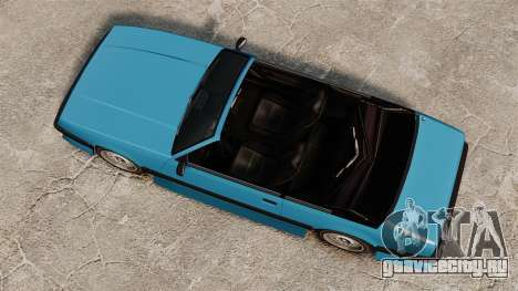 Uranus кабриолет для GTA 4 вид справа