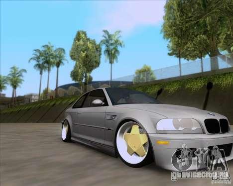 BMW 3-er E46 Dope для GTA San Andreas вид справа