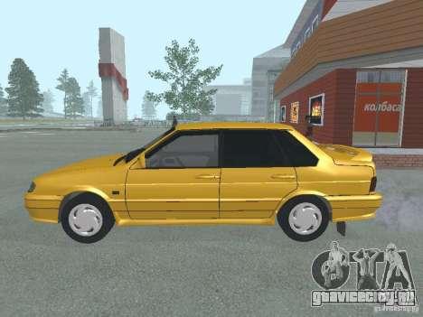 ВАЗ 2115 для GTA San Andreas вид слева