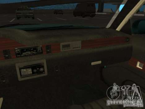 HD Police from GTA 3 для GTA San Andreas вид сверху