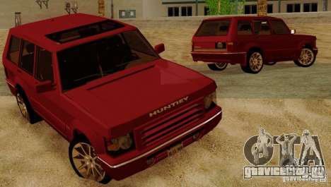 Huntley Freelander для GTA San Andreas вид сбоку