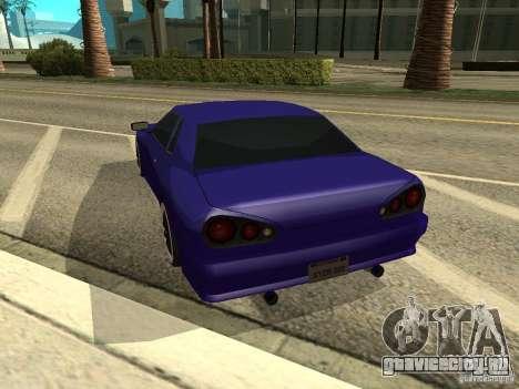 Elegy by W1nston4iK для GTA San Andreas вид слева