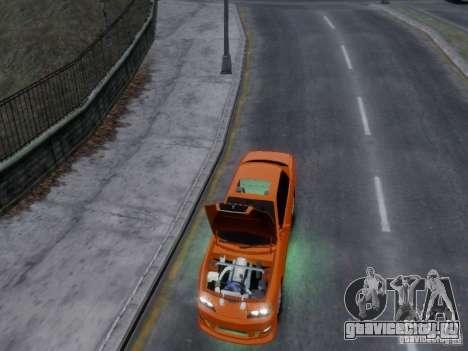 Toyota Chaser 100 TourerV для GTA 4 вид изнутри