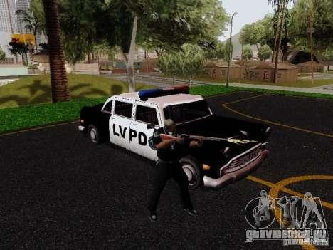 Cabbie Police LV для GTA San Andreas вид справа