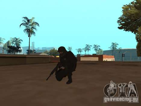 Сотрудник ФСБ для GTA San Andreas третий скриншот