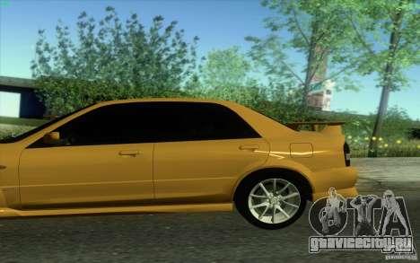 Mazda Speed Familia 2001 V1.0 для GTA San Andreas вид слева