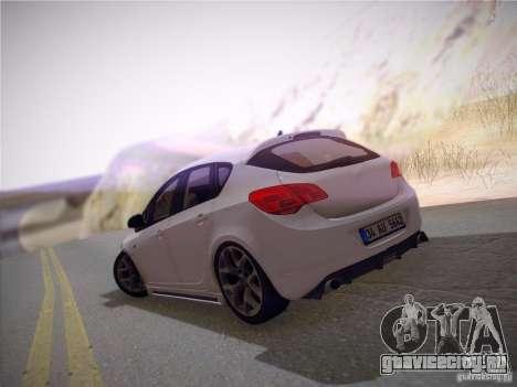 Opel Astra Senner Lower Project для GTA San Andreas вид сбоку