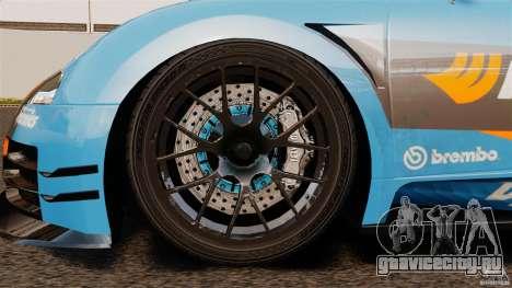 Bugatti Veyron 16.4 Body Kit Final для GTA 4 вид изнутри