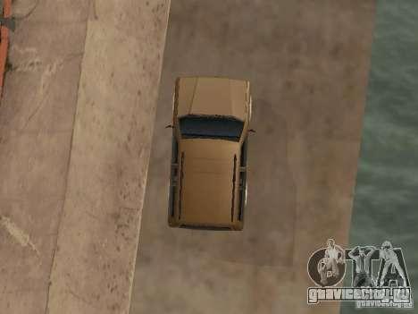 Новый Landstalker для GTA San Andreas вид изнутри