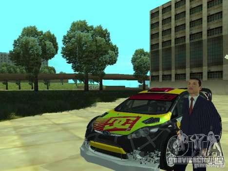 Ford Fiesta H.F.H.V. Ken Block Gymkhana 5 для GTA San Andreas вид справа
