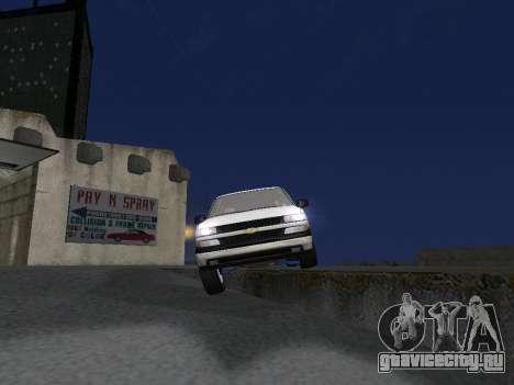 Chevorlet Silverado 2000 для GTA San Andreas двигатель