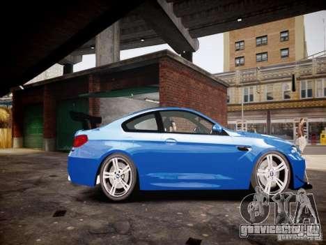 BMW M6 2013 для GTA 4 вид слева