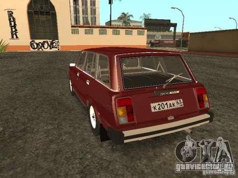 ВАЗ 2104 v.2 для GTA San Andreas вид сзади слева