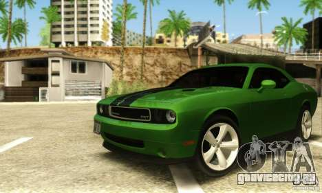 Dodge Challenger SRT-8 для GTA San Andreas вид слева