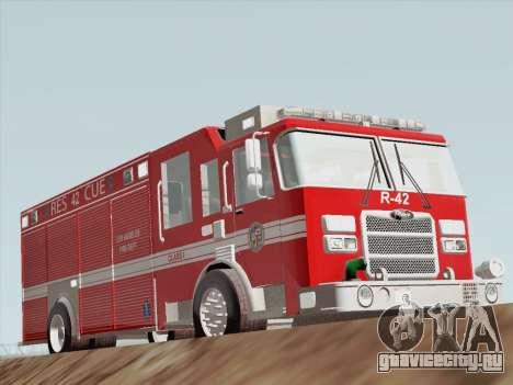 Pierce Contender LAFD Rescue 42 для GTA San Andreas