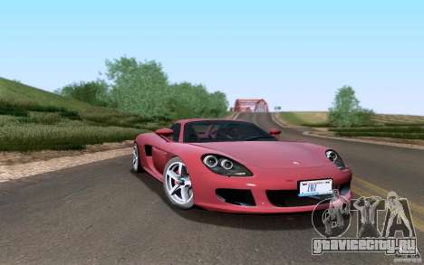Porsche Carrera GT для GTA San Andreas вид сбоку
