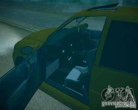 Opel Vectra B для GTA San Andreas вид сверху
