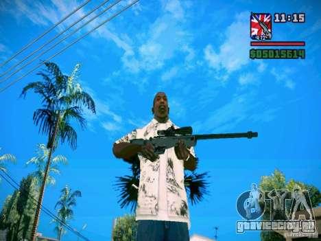 New Weapon Pack для GTA San Andreas третий скриншот