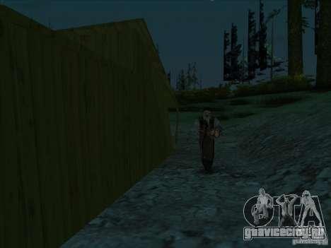 Кожаное лицо для GTA San Andreas второй скриншот