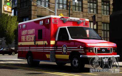 Ford Econoline E350 Ambulance для GTA 4