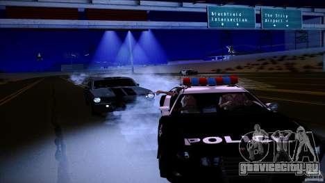 Копы стреляют из машин для GTA San Andreas второй скриншот