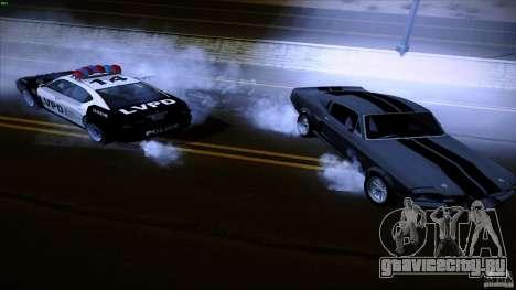 Копы стреляют из машин для GTA San Andreas