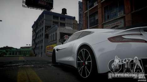 Aston Martin Vanquish 2013 для GTA 4 вид слева