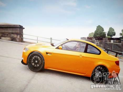 BMW M3 GT-S для GTA 4 вид сзади