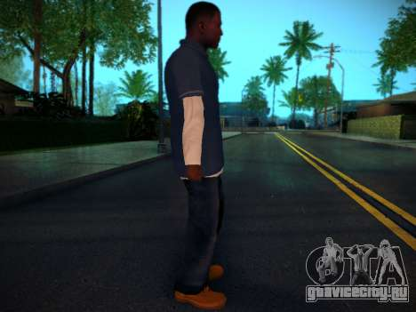 Франклин для GTA San Andreas второй скриншот