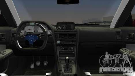 Nissan Skyline GTR R34 для GTA Vice City вид справа