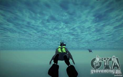 Акваланг для GTA San Andreas пятый скриншот