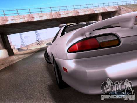 Chevrolet Camaro 2002 California Highway Patrol для GTA San Andreas вид изнутри