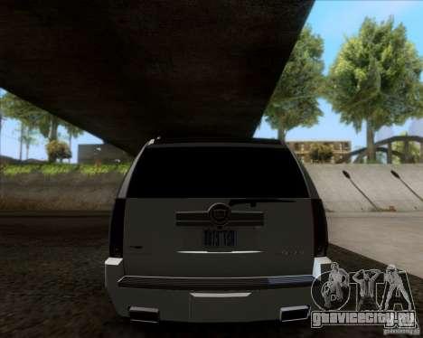 Cadillac Escalade ESV Platinum 2013 для GTA San Andreas вид справа