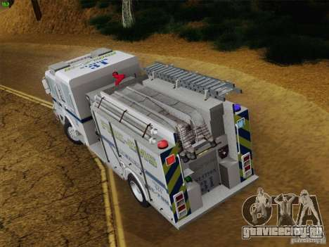 Pierce Pumpers. B.C.F.D. FIRE-EMS для GTA San Andreas вид снизу