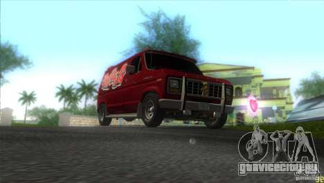 Ford E-150 Gang Burrito для GTA Vice City вид сзади