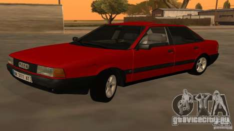 Audi 80 B3 v2.0 для GTA San Andreas вид слева