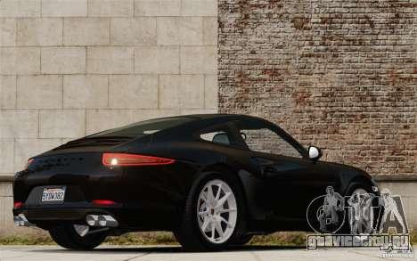 Porsche Cayman S 2006 EPM для GTA 4 вид сзади слева