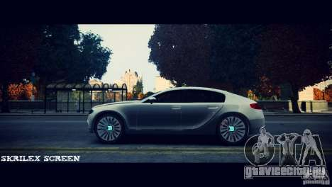 Bugatti Galibier 16C (Bug fix) для GTA 4 вид сзади слева