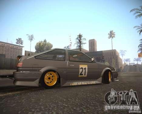 Toyota Levin AE86 RWB для GTA San Andreas