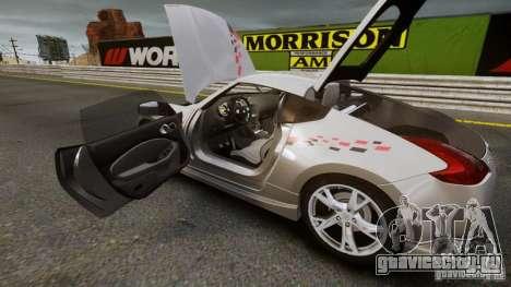 Nissan 370Z NISMO S-Tune для GTA 4 вид сзади слева