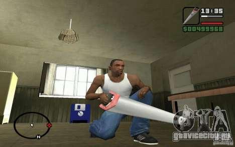 Пила для GTA San Andreas третий скриншот