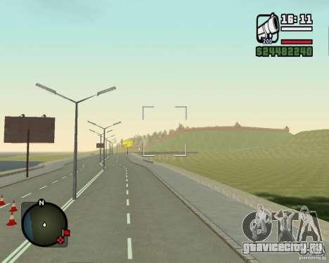 Дорога Лыткарино-Нижегородск для GTA San Andreas четвёртый скриншот