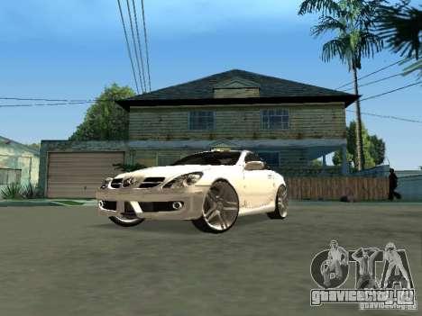 Mercedes Benz SLK 300 для GTA San Andreas вид справа