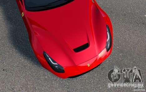 Ferrari F12 Berlinetta 2013 [EPM] для GTA 4 вид сзади слева