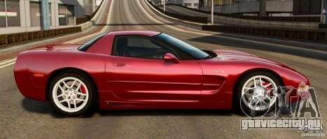 Chevrolet Corvette C5 2001 EPM для GTA 4 вид слева