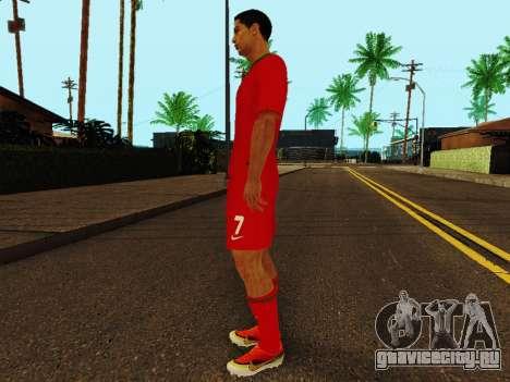 Криштиану Роналду v4 для GTA San Andreas третий скриншот