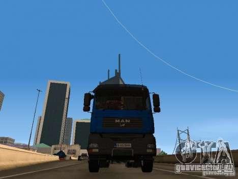 MAN TGA 28 430 PALIFT для GTA San Andreas вид справа