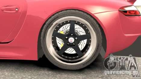 Porsche 997 GT2 Body Kit 2 для GTA 4 вид сбоку