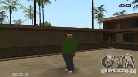 Skin Pack Groove Street для GTA San Andreas второй скриншот