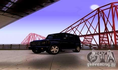 Mercedes-Benz G500 для GTA San Andreas вид справа